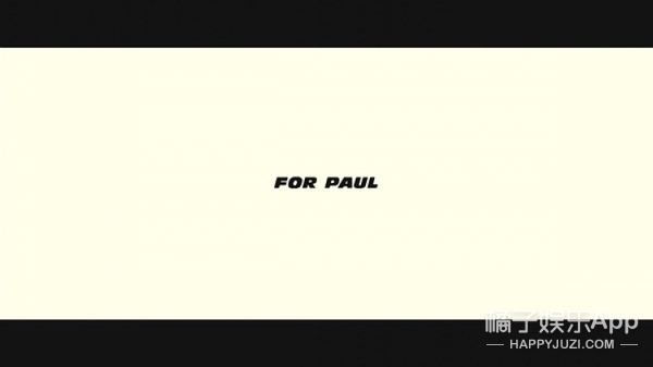 保罗·沃克将重返《速度与激情8》?就这样永远活下去也好