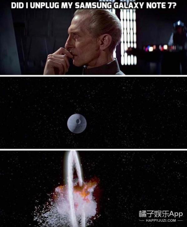 三星Note7一爆炸就炸开了段子手的脑洞
