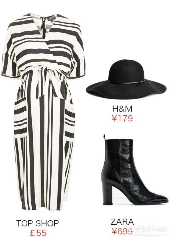 【今天穿啥】把今秋流行的粗条纹穿身上,复古又优雅!