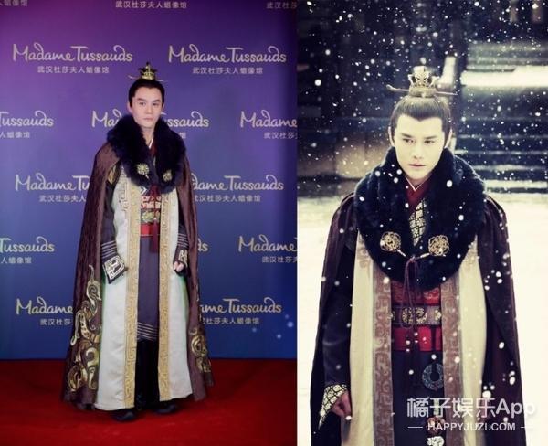 王凯亲手为自己的蜡像揭幕,怎么兴奋得像个小姑娘?