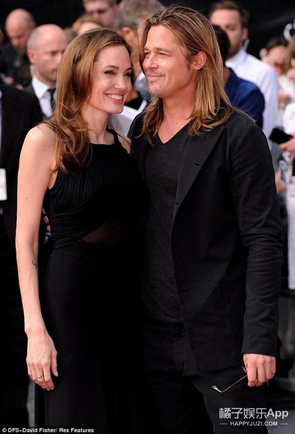 皮特&朱莉图集 | 在一起就做颜值最高夫妇,分开也依然是最性感的男人女人