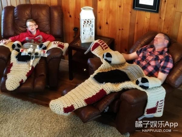 """织房子、织飞机、织儿子…原来""""搞毛线""""不是简单说说而已"""