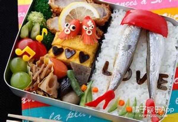 从前有个麻麻喜欢做这样的便当,每天打开便当盒都被吓哭啊!