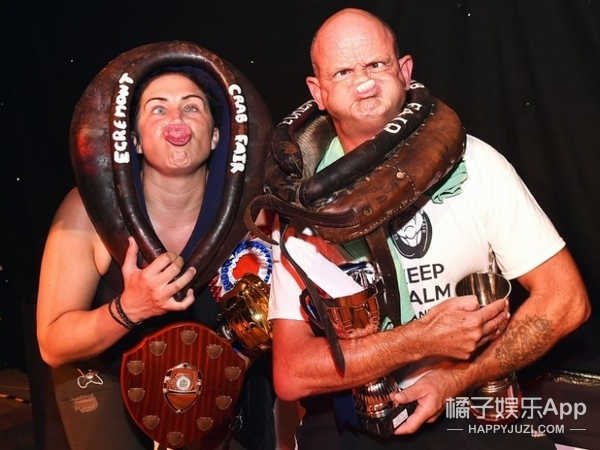 英国举办世界鬼脸大赛,这组冠军你给几分