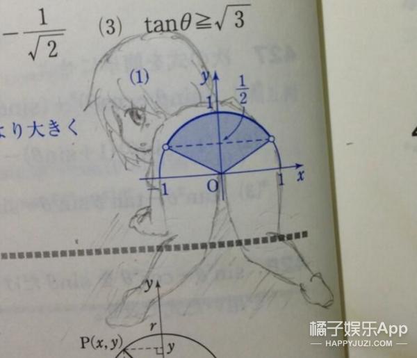 看完这些课本涂鸦,原来日本人的脑洞是从小培养的