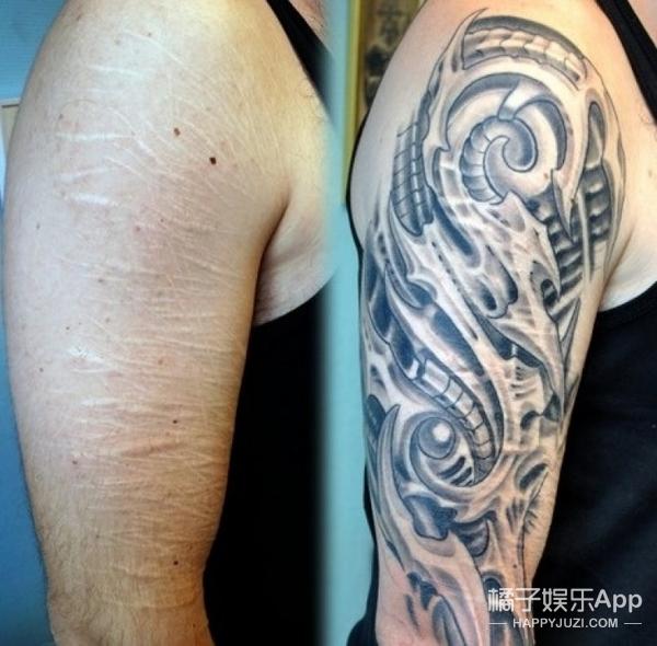 """纹身拯救伤疤,甚至还能还你一只""""眼睛""""!"""