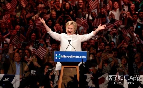女神斯嘉丽·约翰逊新戏要参选美国总统?这是为希拉里添把柴啊