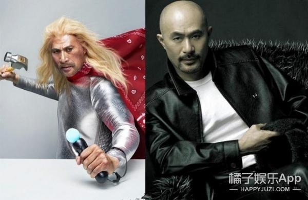 全能猛男徐锦江:能演三级、能COS雷神、能画国画、能雕塑像!