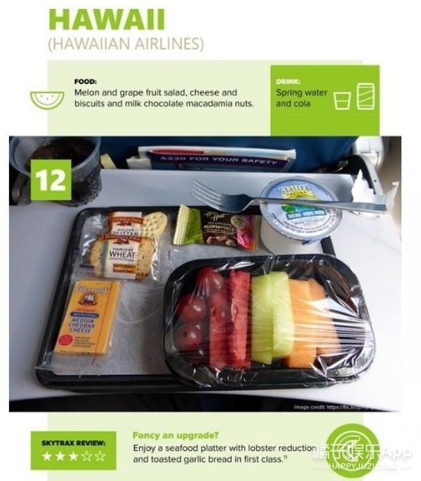 这里有15个国家的飞机餐,你觉得哪一个最好吃?