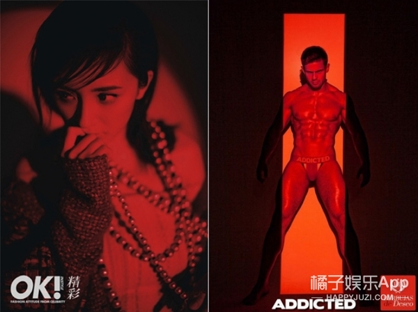 杨幂的封面大片,竟然跟某性感男士内裤的广告创意一模一样?