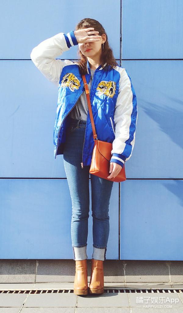 【今天穿啥】刺绣夹克只能穿出欧美范?小清新照样可以!