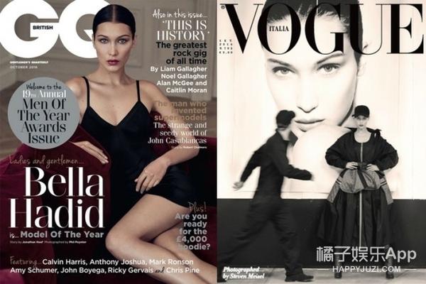 高冷Bella穿亮片透视装为自己庆生,20岁就晋升超模她才是人生赢家!