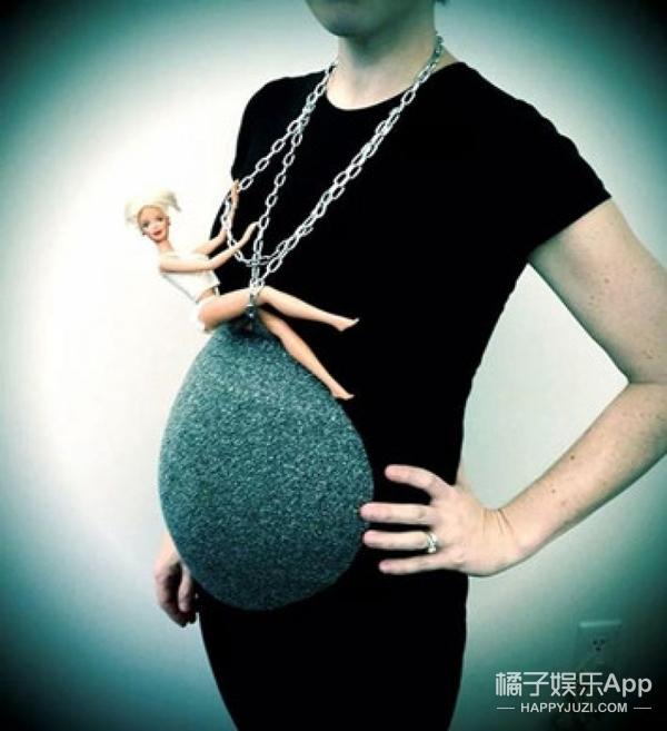 创造力爆棚!快看怀孕妈妈的万圣节