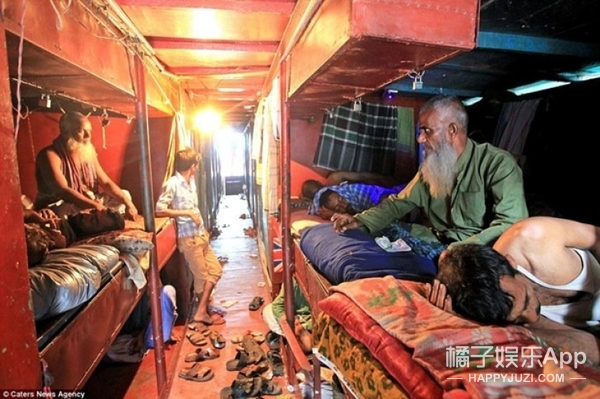 世界最便宜旅馆:一个床位一晚2.4元