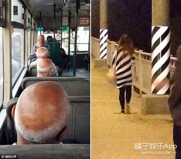 同时同地陌生人打扮惊人相似 上演诡异的巧合