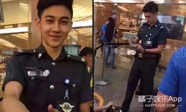 他是新加坡最帅航警,如今已经接拍电视剧啦!