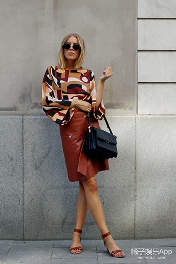 【穿衣MorningCall】想要一件皮裙从夏天穿到秋天,我有无数种方法解救你!