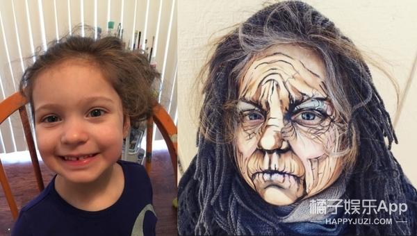 孩子们经过她的改造,都变成了奇异精灵!