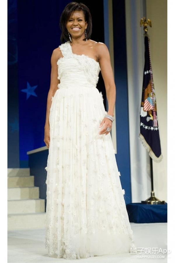美国第一夫人米歇尔出席最后一场国宴,这一次依旧要惊艳全场!