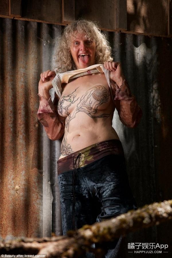 她花3年为乳腺癌幸存者拍下照片,有男人有女人