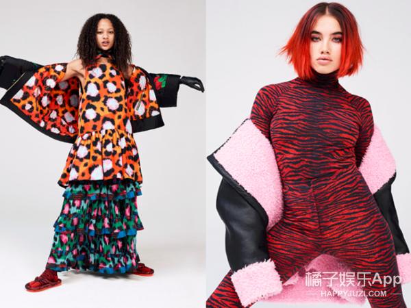 辣眼睛的H&M和Kenzo合作款,怎么就被范冰冰宋茜穿好看了!
