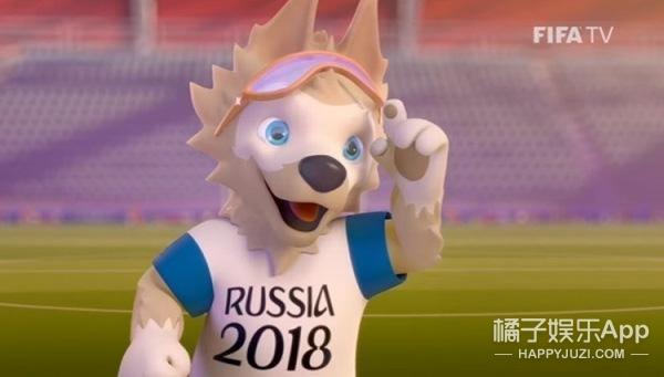 """2018俄罗斯世界杯官方吉祥物揭晓 卡通""""狼""""当选"""
