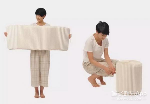 这些家具居然是纸做的!
