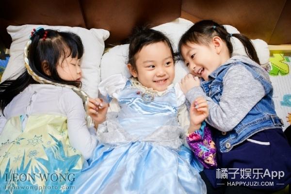 甜馨四岁生日会好热闹,一家人玩起了cosplay!