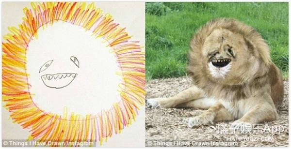 爸爸将6岁儿子的画还原到现实世界,看完我惊恐地笑了