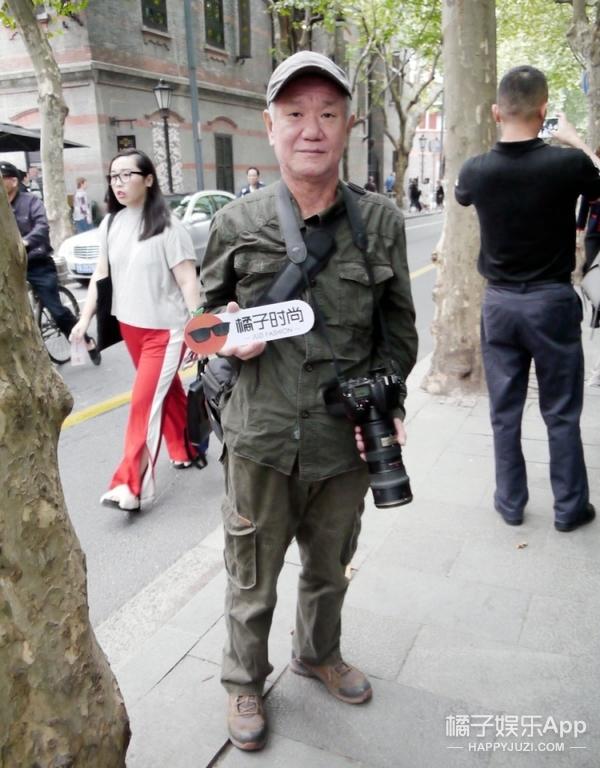 """那些上海时装周你想不到的""""时髦人"""",夕阳红也是一份子!"""