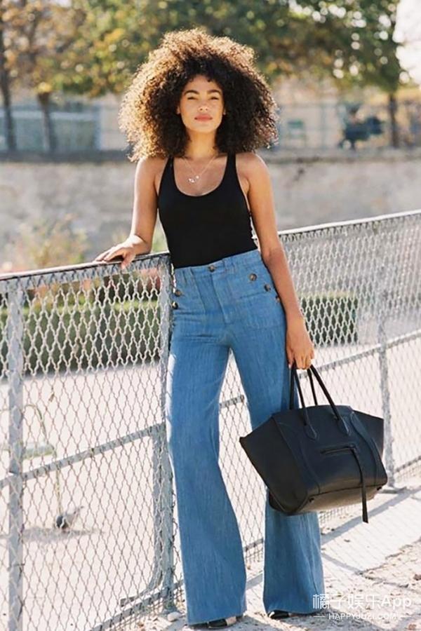 【穿衣MorningCall】一条高腰牛仔裤,让你一个星期不重样!