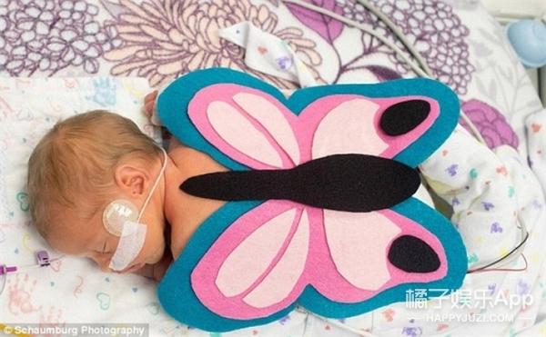 太暖心!美国医院为重症监护室婴儿过万圣节