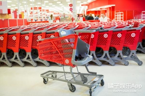 以后逛商场,你也可以坐进购物车里买买买了