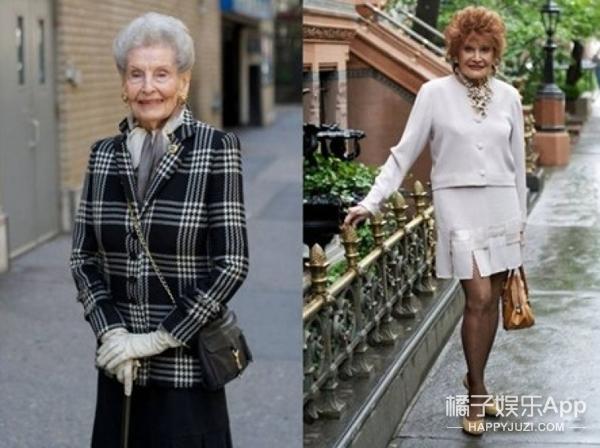 看这些时尚圈80岁+的时髦精!向你证明终生美才是一种态度!