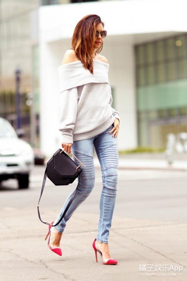 【穿衣MorningCall】一字肩不是夏天的专利,秋冬也可以继续香肩微露!