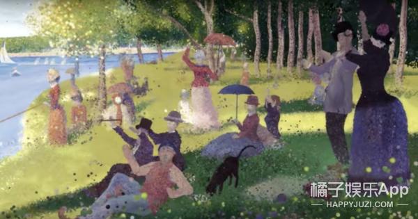 张靓颖新歌MV玩趣恶搞12幅世界名画,检测你眼力的时候到了!