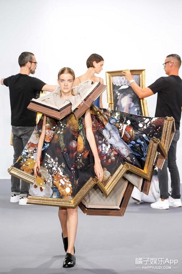想把世界名画穿身上?这些时装设计师已经满足了大家的愿望