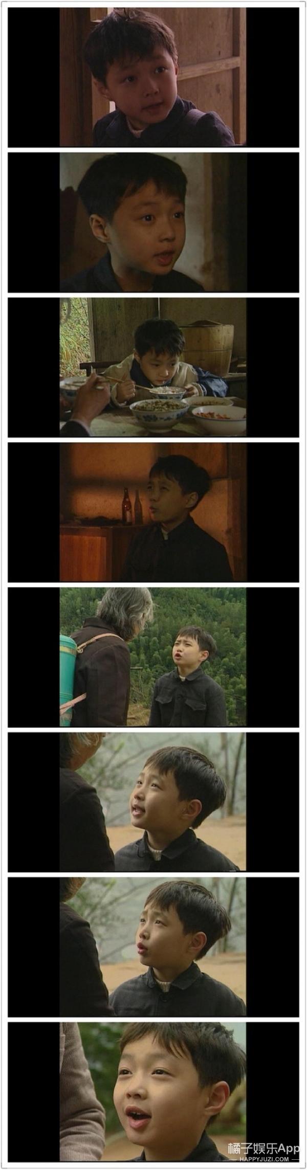 张艺兴6岁拍的电视剧片段曝光,一看就知道没整过容