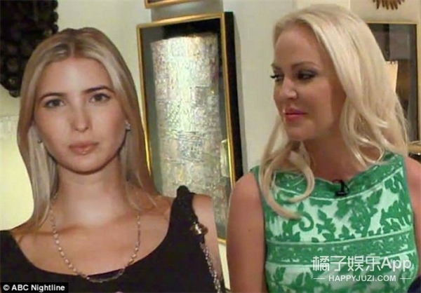 这个女人花90万把自己整的像川普的女儿