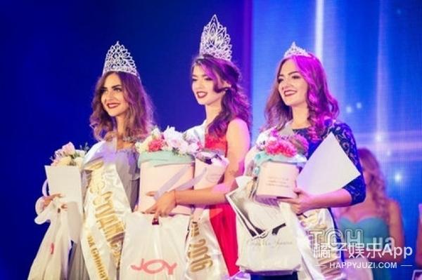 养眼!乌克兰女大学生选美选出冠军