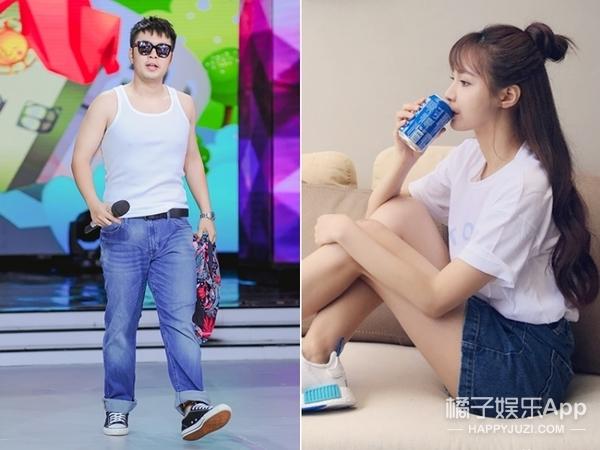 沈梦辰和杜海涛,这对迷之CP不同框的时候竟然都在穿情侣装!