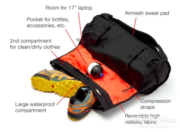 远足时还能保证包里的衣服不出褶?!只要你的脑洞够大!