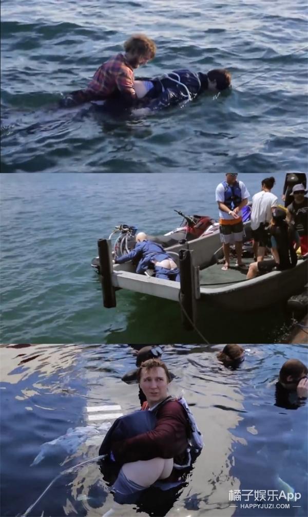 【原来这么拍】哈利·波特喷水放屁当游艇,替身竟然不是人!