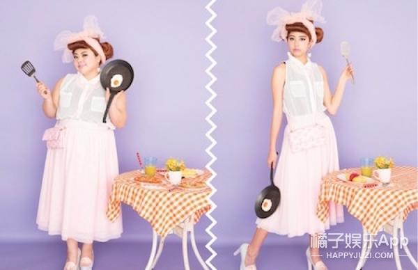 TA很红丨日本的励志胖姑娘,从搞笑艺人到时尚达人!自信做自己!