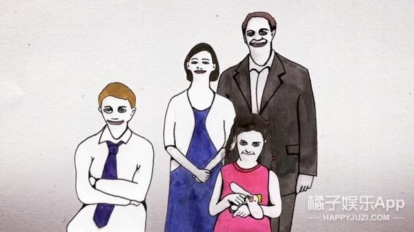 【短片长看】一家四口拍全家福,故事的结局竟是妻子杀死了丈夫