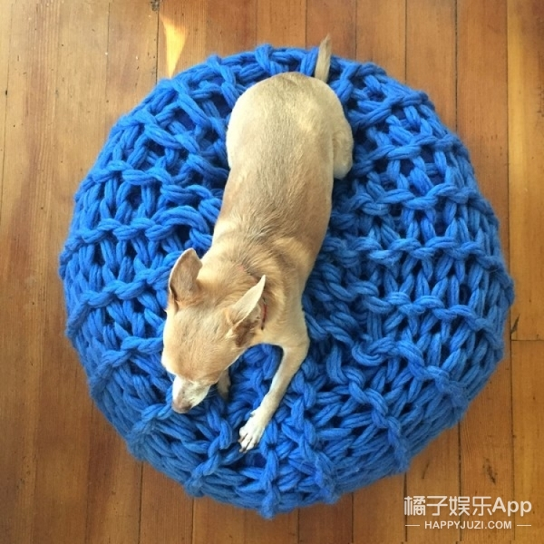 大冷天,我只想花30分钟打个这样的毛毯冬眠!