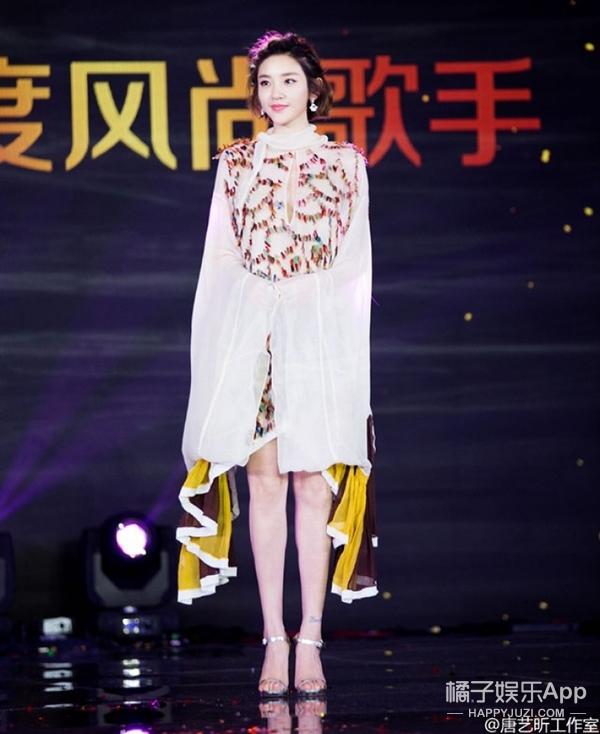 唐艺昕的抹胸裙、金晨的透视装…难道都是爱上性感路线了?