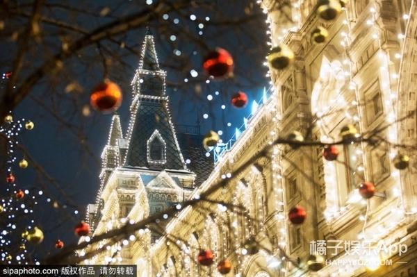 一周我槽 | 俄罗斯街头的圣诞灯美成了童话世界!