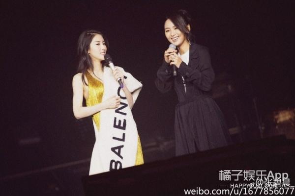请来周笔畅当自己演唱会的嘉宾,张碧晨真是追星赢家啊!