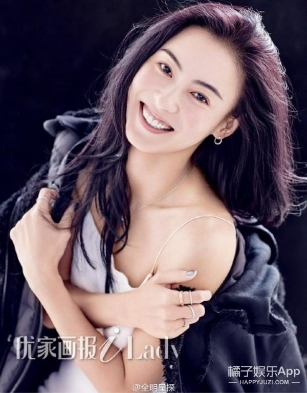 36岁张柏芝再登杂志封面,历经风雨的她,重回20少女模样。